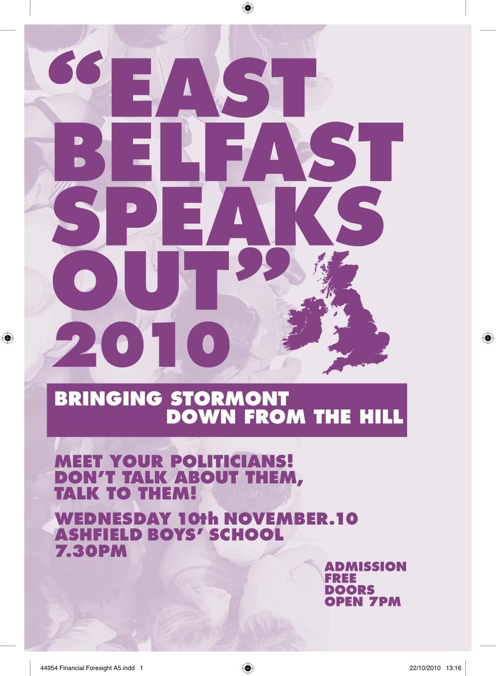 20101110 East Belfast Speaks Out 01