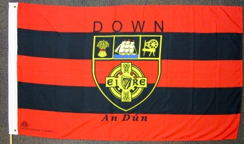 GAA flag of Co. Down. (c) Gordon GILLESPIE