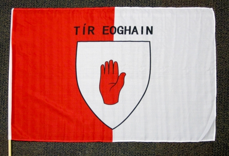 GAA flag of Co. Tyrone. (c) Gordon GILLESPIE