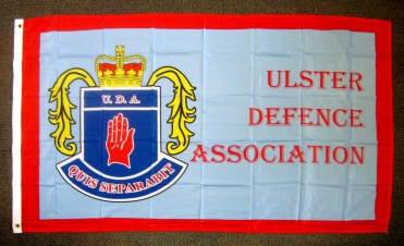 Flag of Ulster Defence Association (UDA). (c) Gordon GILLESPIE