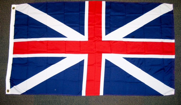Union flag (pre-1801). (c) Gordon GILLESPIE