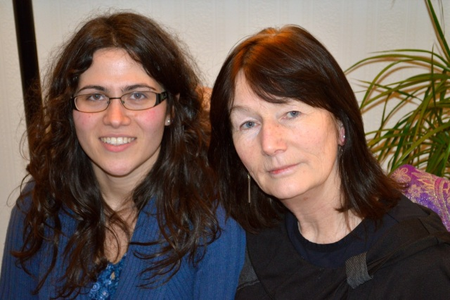Stefania Gualberti and Mary McAnulty (Mediation Northern Ireland); photo (c) Lise McGreevy