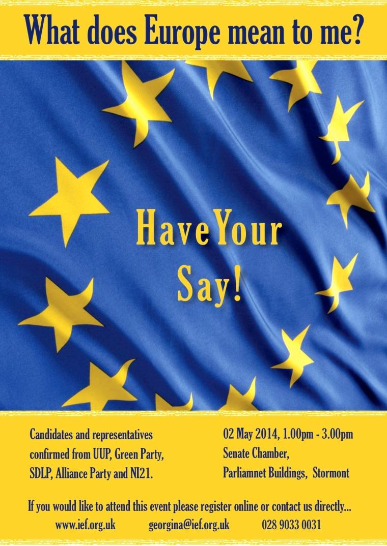 20140502 IEF EU Hustings