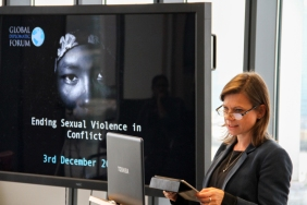 Jelke BOESTEN. Ending Sexual Violence in Conflict event, Global Diplomatic Forum, London, England @DiplomaticForum (c) Global Diplomatic Forum