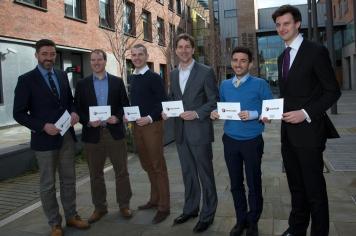 Jim FITZPATRICK, Paul BRAITHWAITE (Building Change Trust), Enda YOUNG (Transformative Connections), Allan LEONARD (Northern Ireland Foundation), Alexios MANTZARLIS (Poynter Institute), and Will MOY (Full Fact)