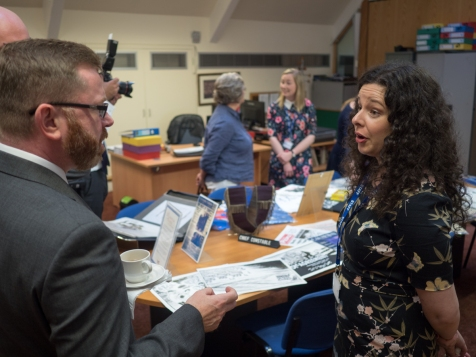 Divided Society digitisation project launch. Linen Hall Library, Belfast, Northern Ireland. @TheLinenHall