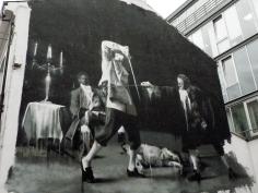 Mural near Black Box.