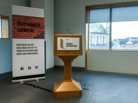 Successful Belfast launch event, Ulster University, Belfast, Northern Ireland.